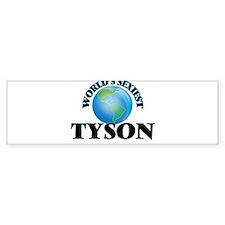 World's Sexiest Tyson Bumper Bumper Sticker