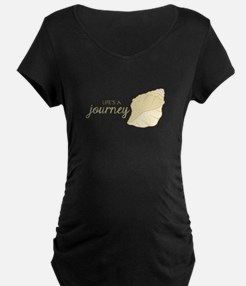 Lifes Journey Maternity T-Shirt