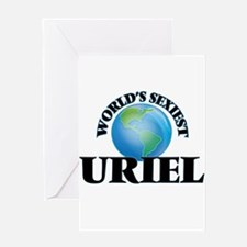 World's Sexiest Uriel Greeting Cards