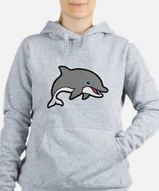 Dolphin Women's Hooded Sweatshirt