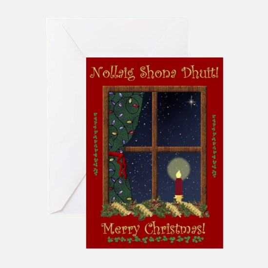 Betts & Chuck Christmas Greeting Cards (Pk of 20)