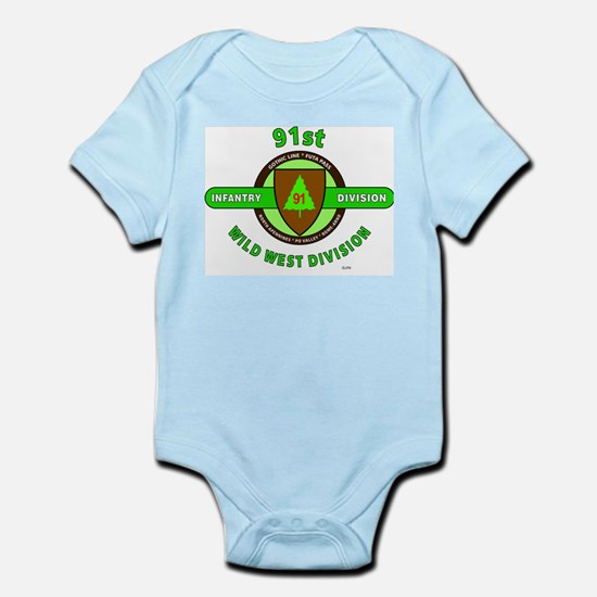 91ST INFANTRY DIVISION, WILD WEST DIVISI Body Suit