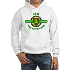 91ST INFANTRY DIVISION, WILD WES Hoodie