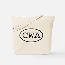 CWA Oval Tote Bag