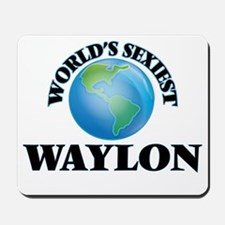 World's Sexiest Waylon Mousepad