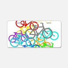 Bicycles Aluminum License Plate