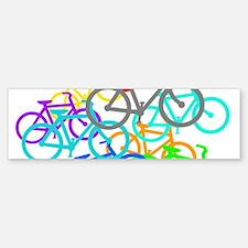 Bicycles Bumper Bumper Bumper Sticker
