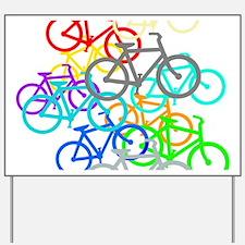 Bicycles Yard Sign