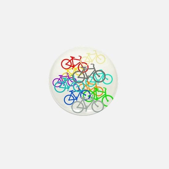 Bicycles Mini Button