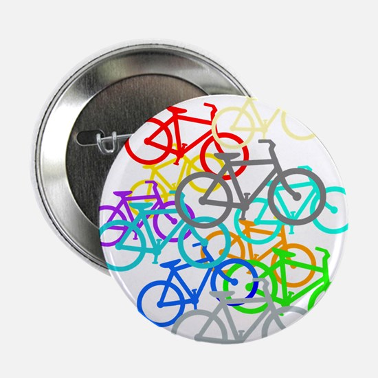 """Bicycles 2.25"""" Button (10 pack)"""