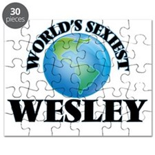 World's Sexiest Wesley Puzzle