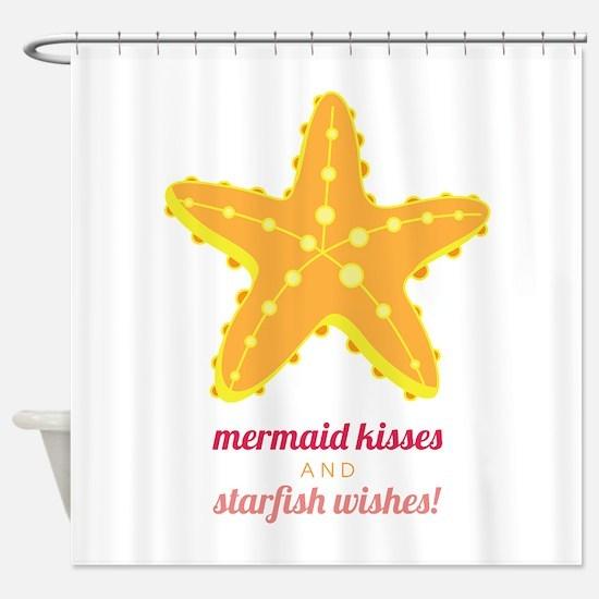 Starfish Wishes Shower Curtain