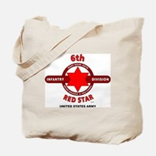 Cute 71st infantry division red circle Tote Bag