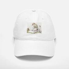Sleepy English Bulldog Hat