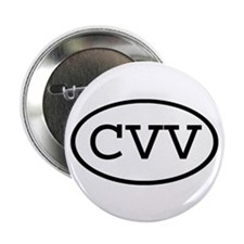 "CVV Oval 2.25"" Button (100 pack)"