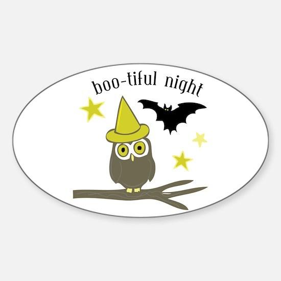 Boo-tiful Night Decal