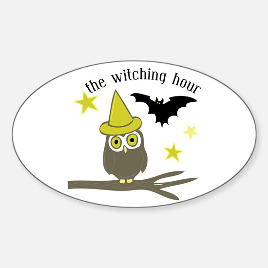 Witching Hour Decal