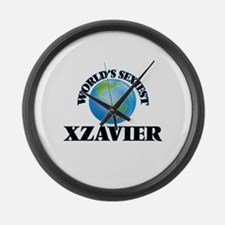 World's Sexiest Xzavier Large Wall Clock