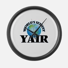 World's Sexiest Yair Large Wall Clock