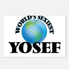 World's Sexiest Yosef Postcards (Package of 8)