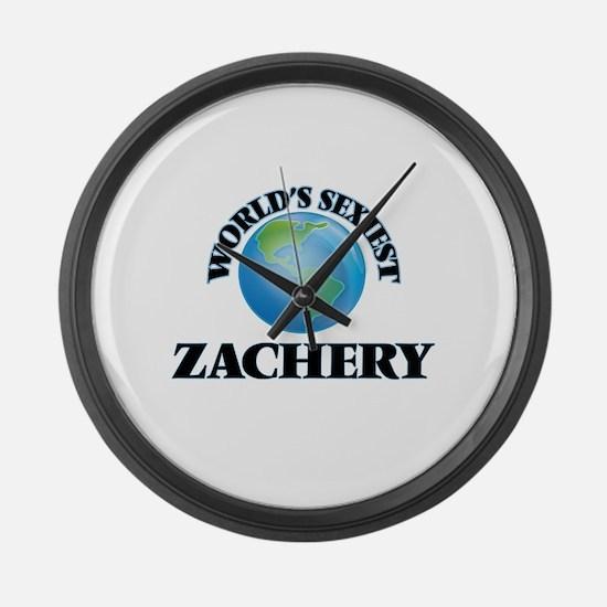 World's Sexiest Zachery Large Wall Clock