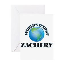 World's Sexiest Zachery Greeting Cards