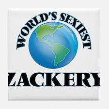 World's Sexiest Zackery Tile Coaster