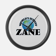 World's Sexiest Zane Large Wall Clock