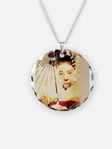 geisha girl Necklace