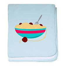 Spaghetti Bowl baby blanket