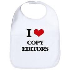 I love Copy Editors Bib