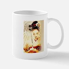 geisha girl Mugs