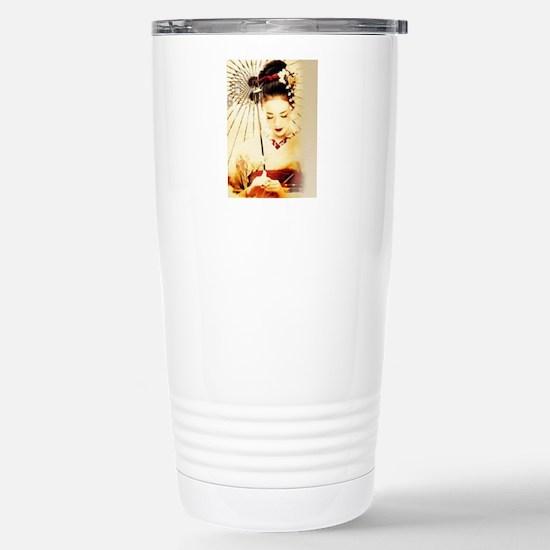 geisha girl Stainless Steel Travel Mug