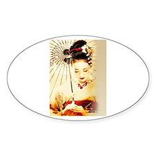 geisha girl Decal