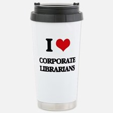 I love Corporate Librar Travel Mug