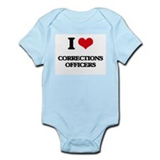I love Corrections Officers Body Suit