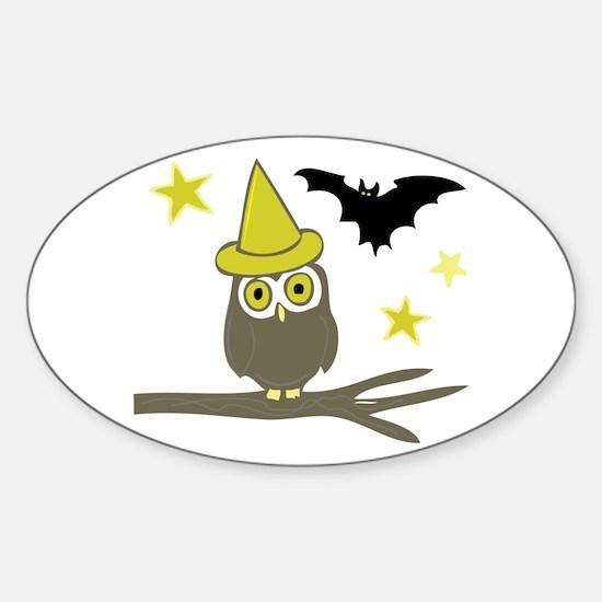 Owl & Bat Decal