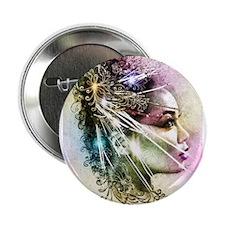"""geisha girl 2.25"""" Button"""