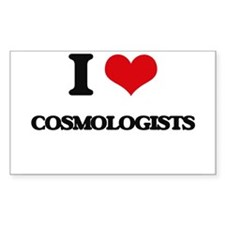 I love Cosmologists Decal
