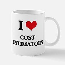 I love Cost Estimators Mugs