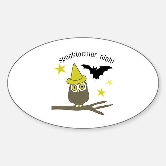 Spooktacular Night Decal