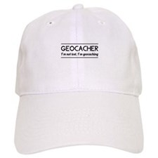 Geocacher I'm not lost, I'm geocaching Baseball Ca