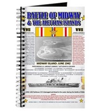 BATTLE OF MIDWAY CAMPAIGN WORLD WAR II & A Journal