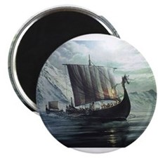 viking ship Magnets