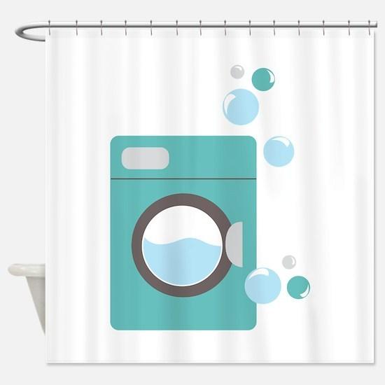 Washing Machine Shower Curtain