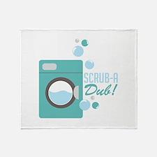 Scrub-A-Dub! Throw Blanket