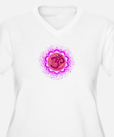 Crown Chakra Plus Size T-Shirt