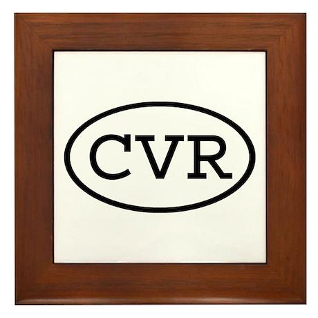 CVR Oval Framed Tile