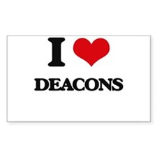I love Deacons Decal