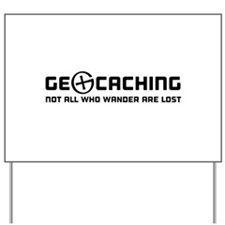 Geocaching not all who wander are lost T-shirts Ya